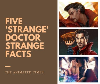 Facts About Doctor Strange Collage