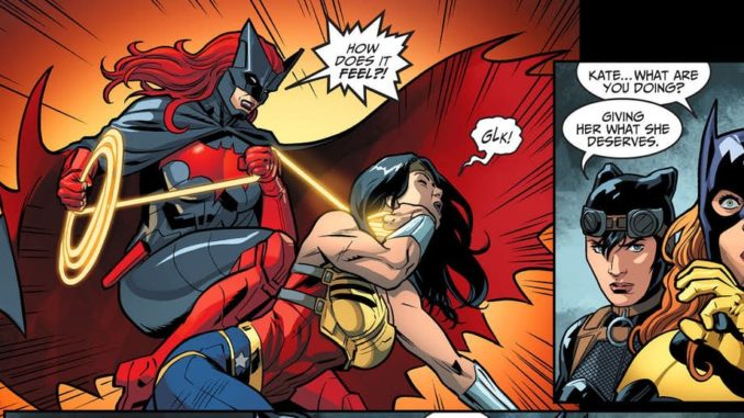 Wonder woman cheats on superman