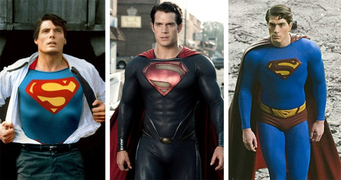 Every Live-Action Costume of Superman