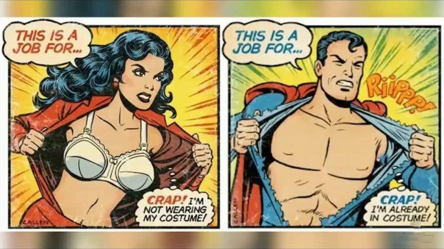 Superman vs Wonder Woman Memes