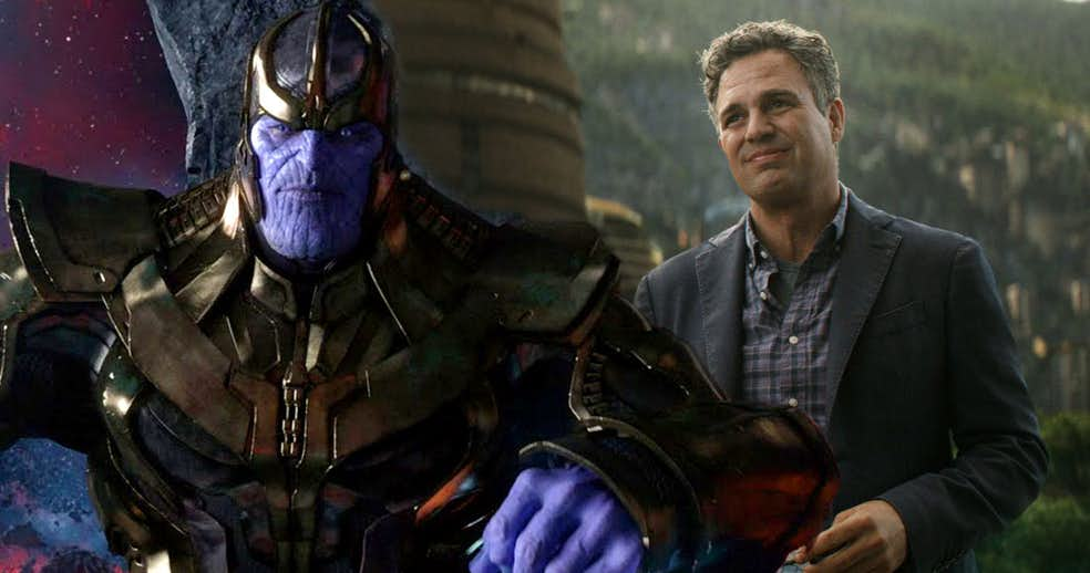 Bruce Banner Encountered Thanos