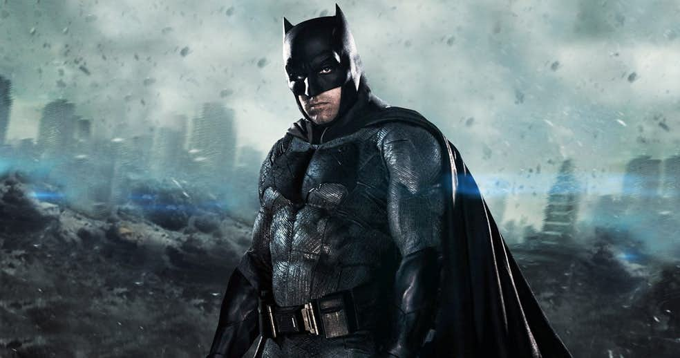 Solo Batman Movie Shooting