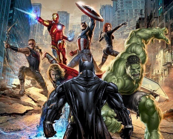 Batman VS Avengers