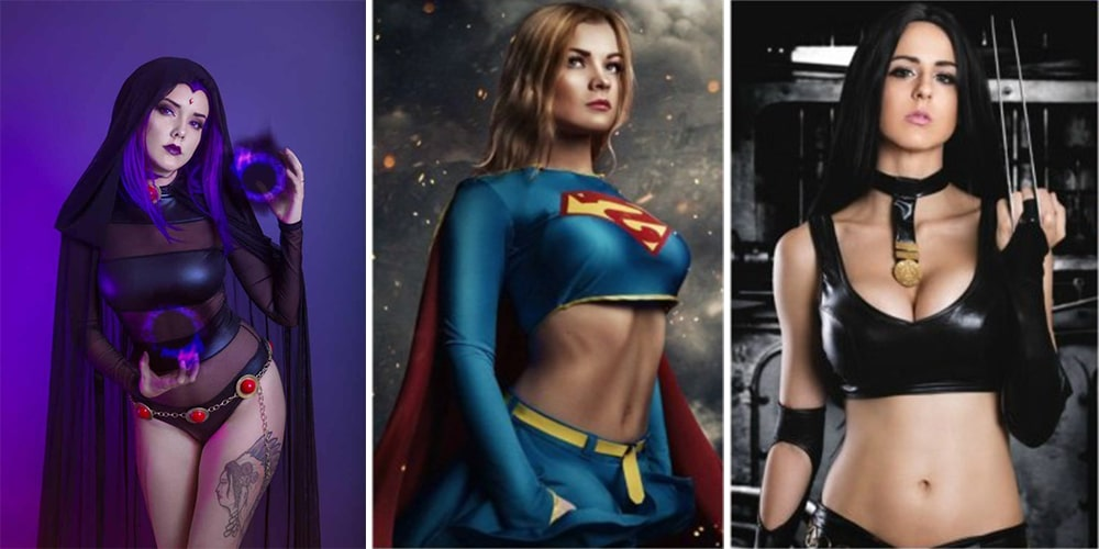 Fan Cosplay of Superheroes
