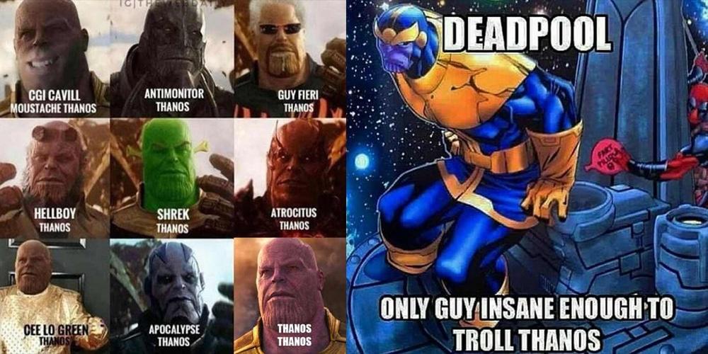 Memes on the Mad Titan: Thanos