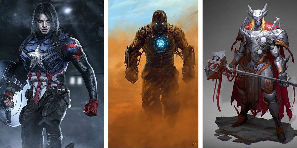 Marvel Superheroes Reimaginations