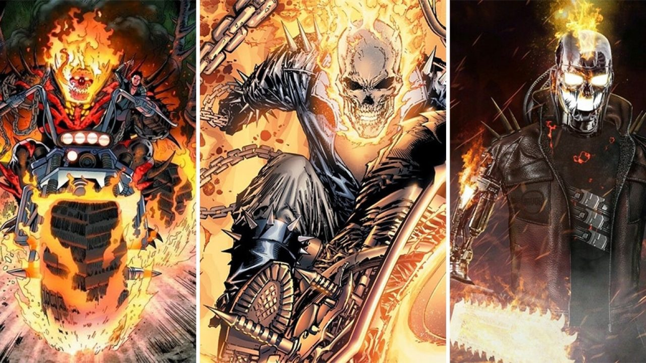 10 Most Powerful Versions of Ghost Rider, Ranked - Animated