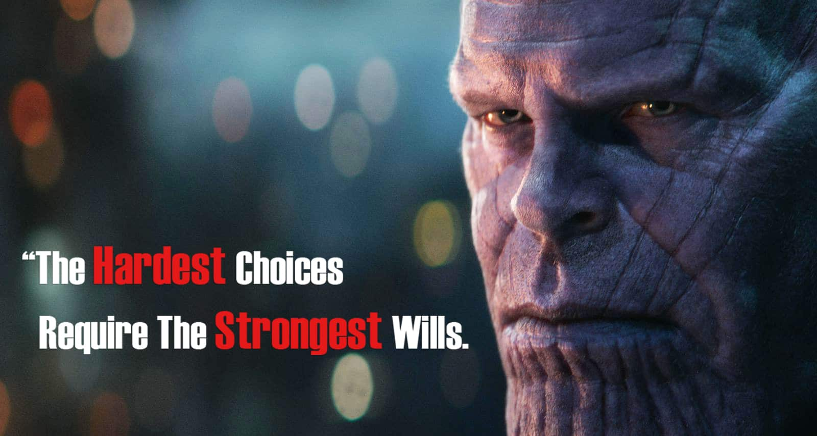Image result for thanos meme the hardest choices require the strongest will