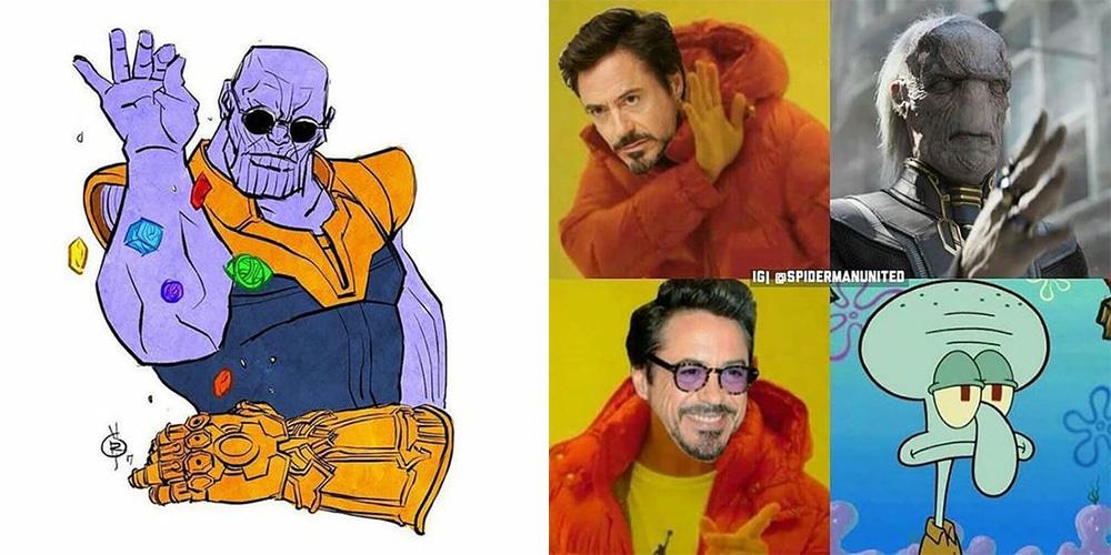 18 Hilariously Dank Thanos And Black Order Memes