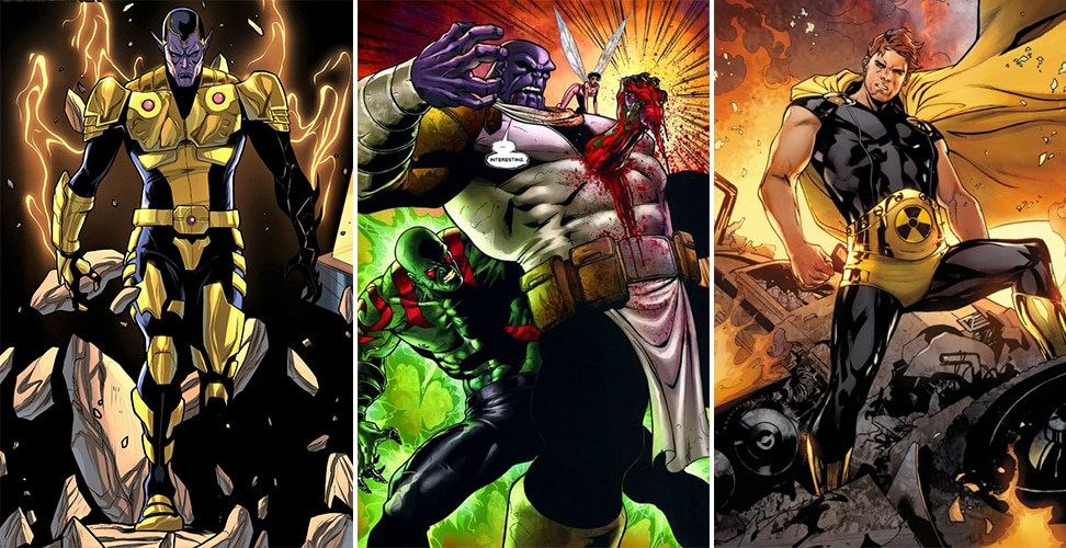 10 Most Powerful 'Eternals' Who Can Crush Thanos - Animated Times