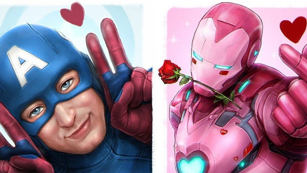 10 Hilariously Cute Fan Art Of Avengers Trying To Impress Senpai With Their Kawaiiness Animated Times
