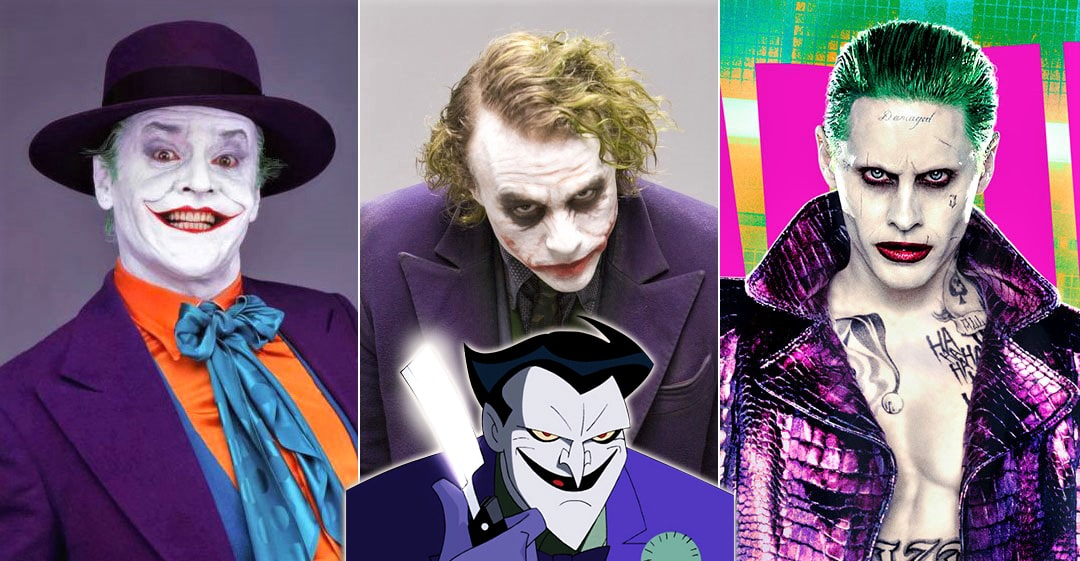 Joker Bodies Over The Years
