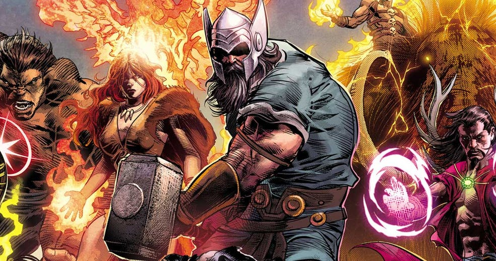 Top 10 Most Powerful Marvel Characters Odin