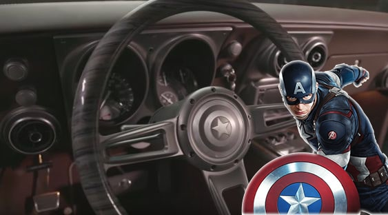 Robert Downey Jr Gifted Chris Evans A Captain America Themed Camaro Animated Times