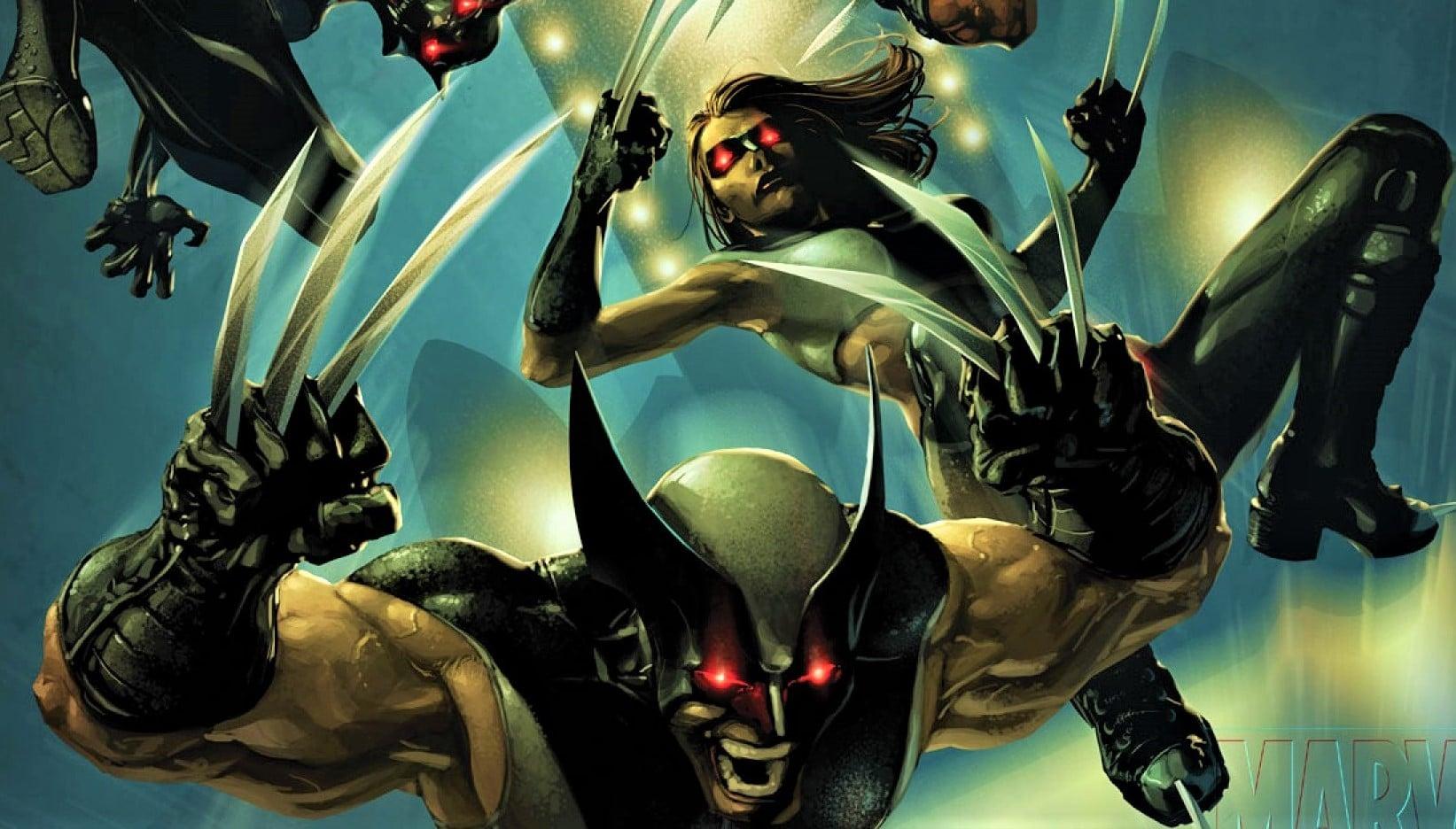 Marvel Reveals Wolverine NEW Black Costume & Marvel Reveals Wolverine NEW Black Costume - Animated Times