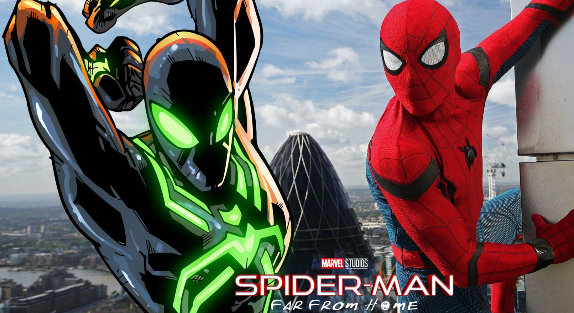 far from home: new spider-man stealth suit reportedly leaked