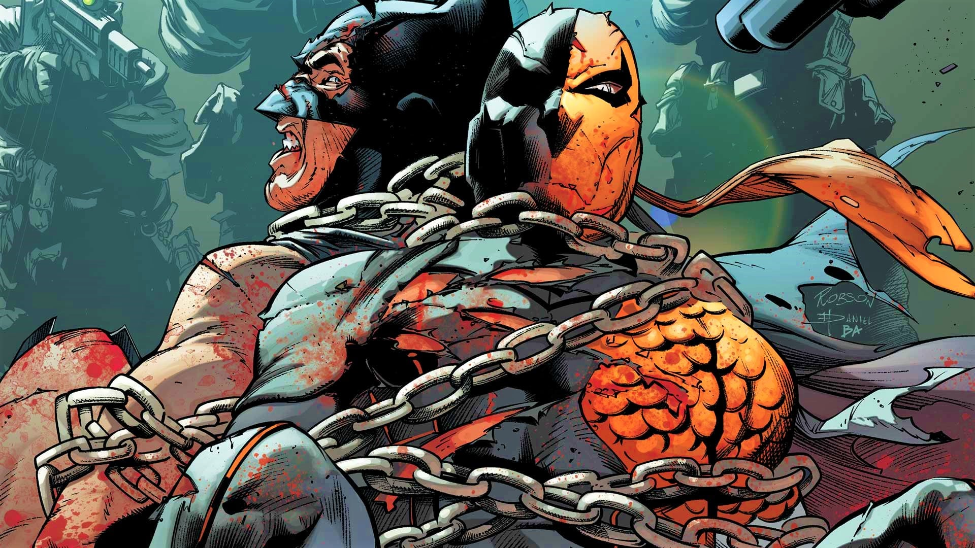 Image result for deathstroke comics""