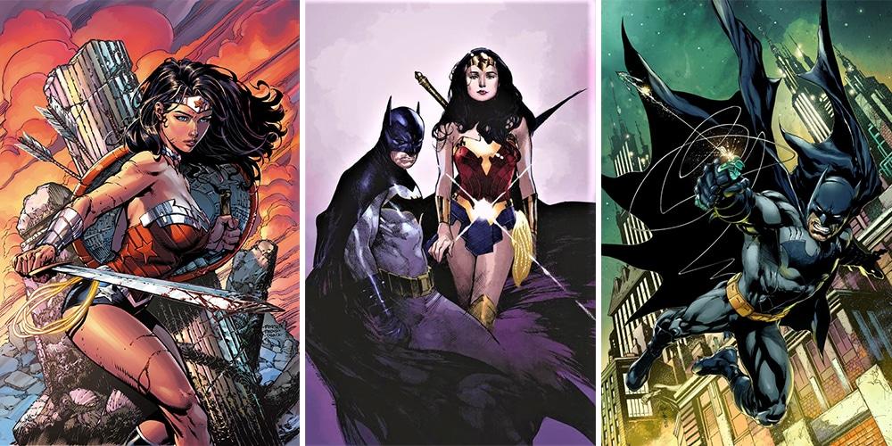 Woman and romance wonder batman Batman Has