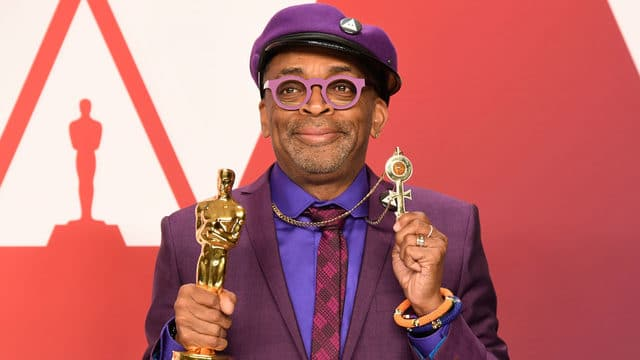 Spike Lee Wins An Oscar For 'BlacKkKlansman'