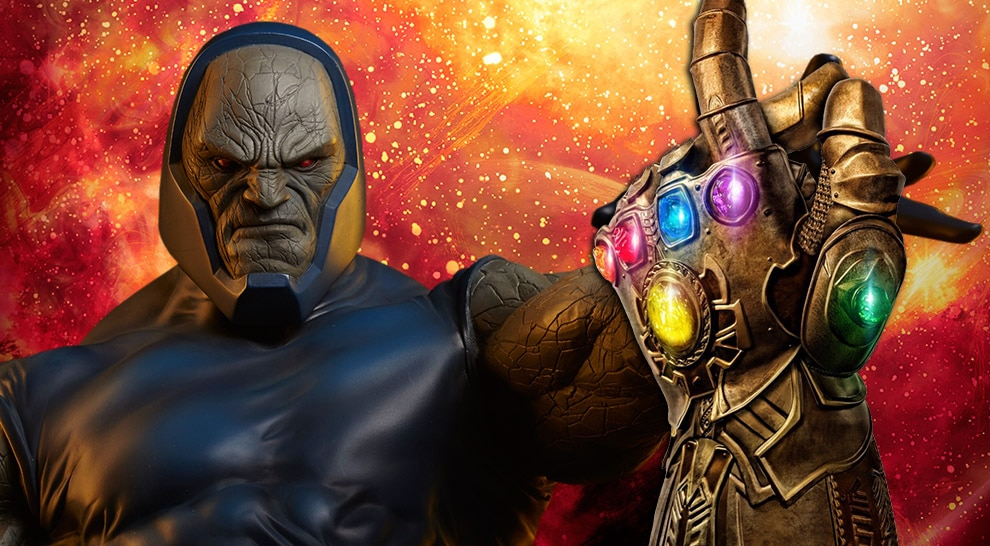 Darkseid with DC's Infinity Gauntlet