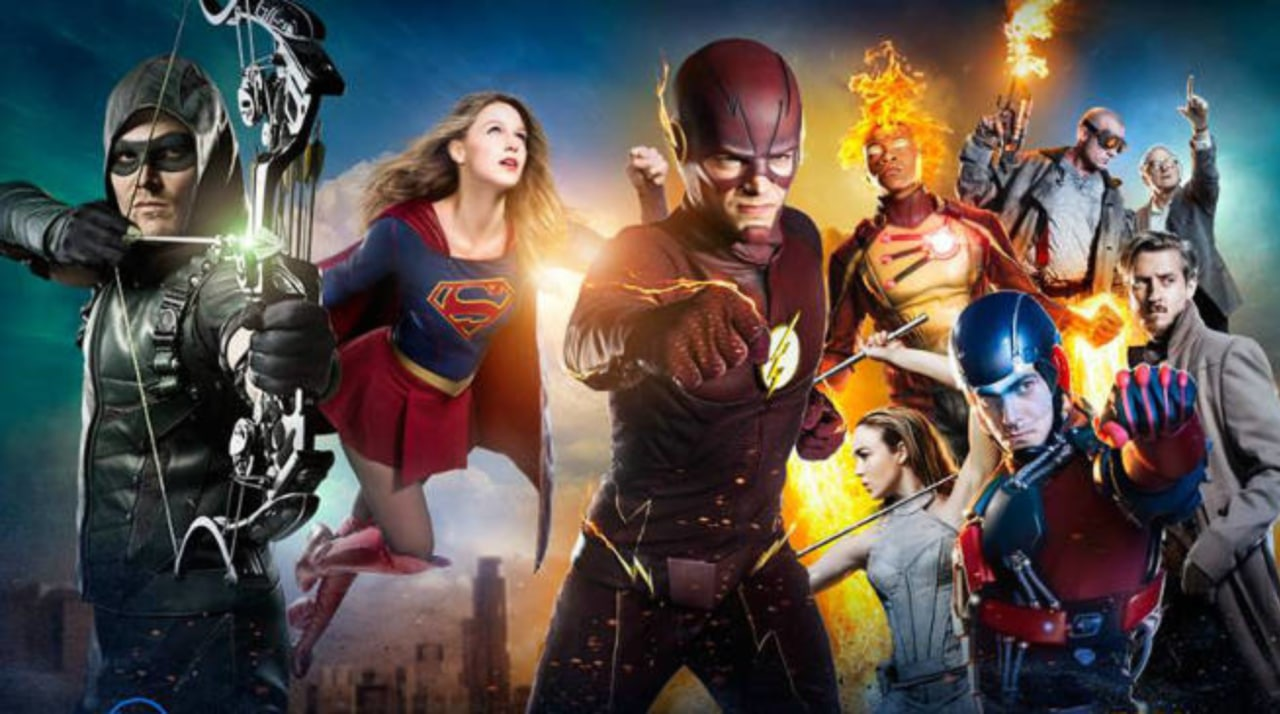 The Flash, Supergirl, Arrow, Batwoman, Black Lightning