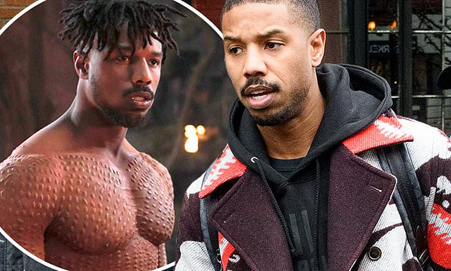 michael B. jordan therapy-black-panther
