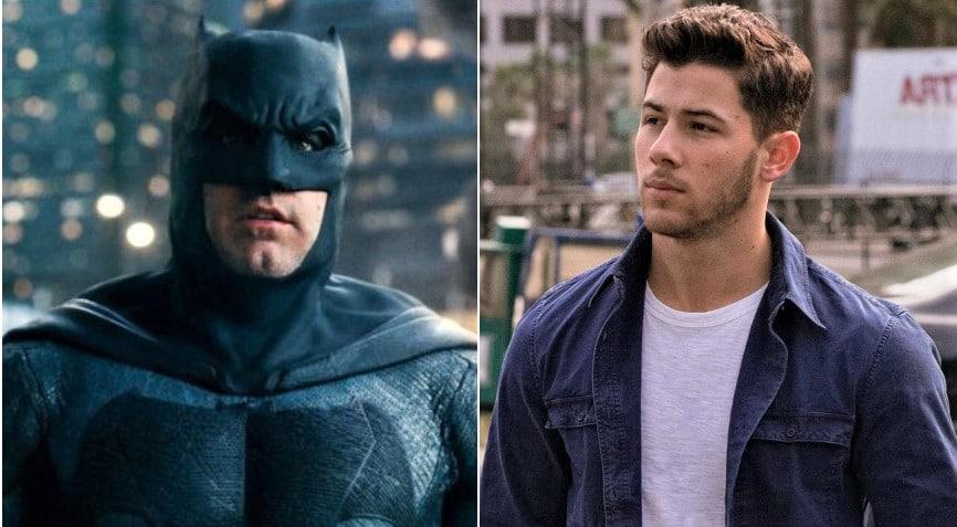 Jonas as Batman