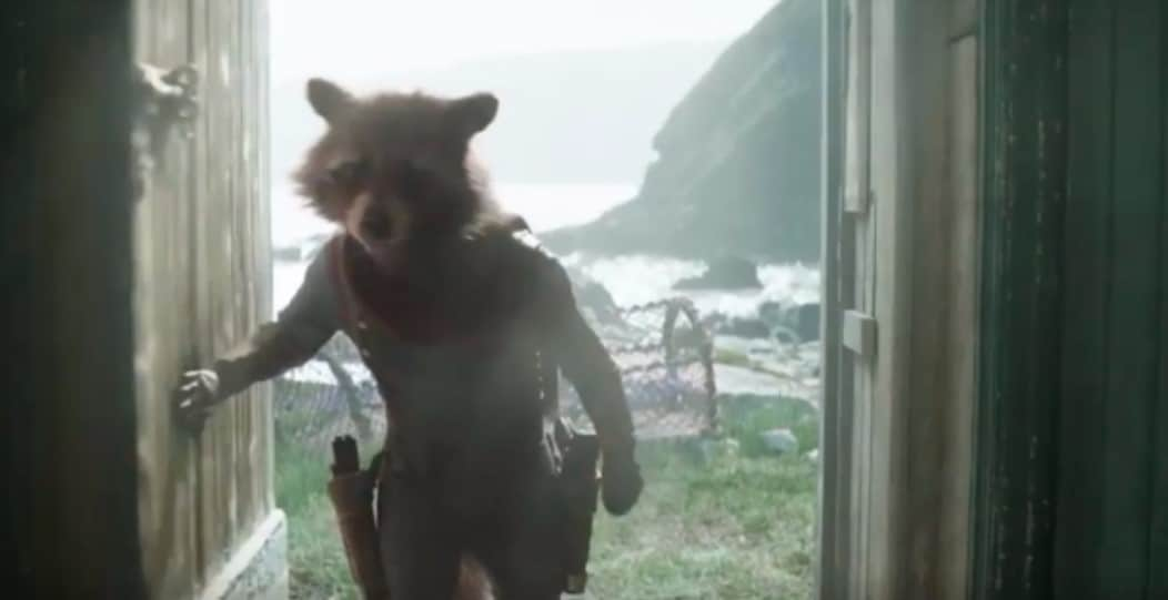 Rocket Raccoon in Avengers: Endgame