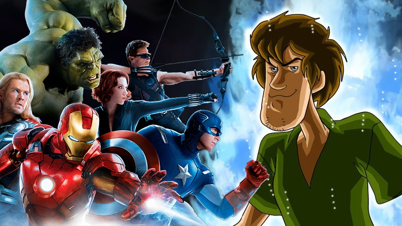 Shaggy From 'Scooby Doo' Defeats The Avengers And Thanos