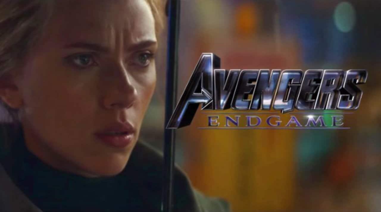 Avengers Endgame Black Widow Russia Poster