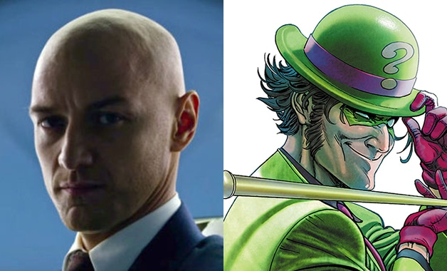 James_McAvoy_Batman_Riddler_Professor_X_Men