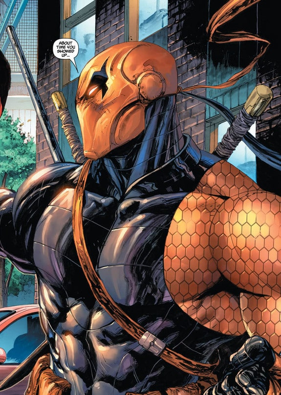 Esai Morales as DeathStroke