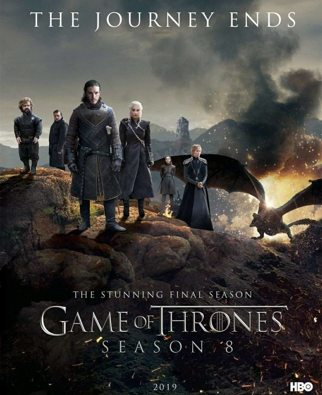 the journey ends game of thrones season 8
