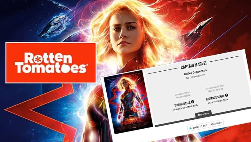 Captain Marvel Rotten Tomatoes Audience Review