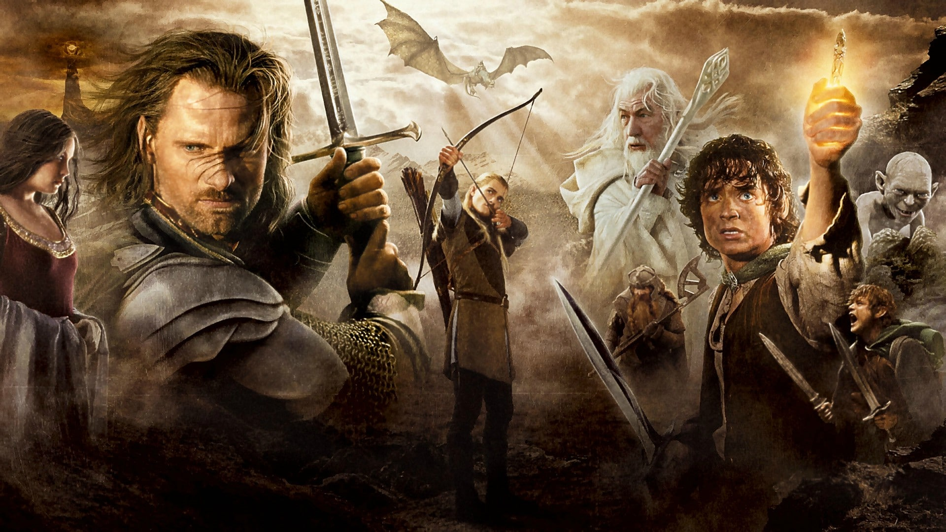 Lord Of The Rings Series On Amazon Prime