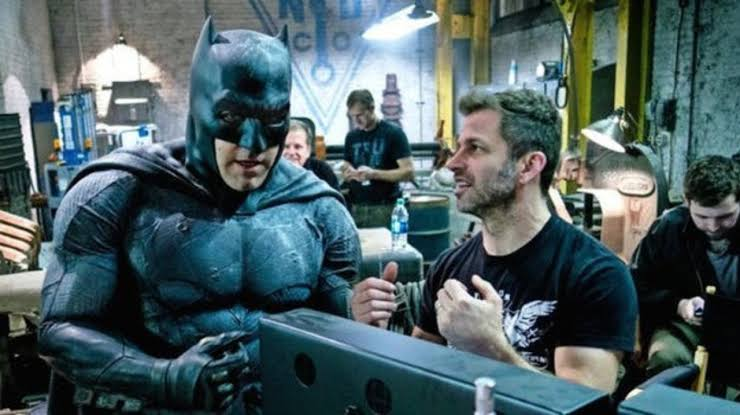 Justice League's Director Zack Snyder