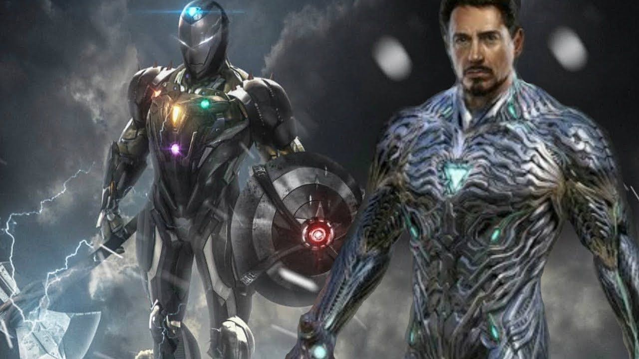 Iron man new suit avengers endgame