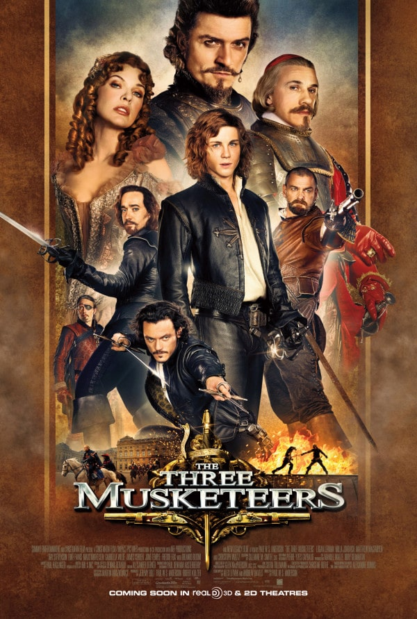The Three Musketeers Netflix