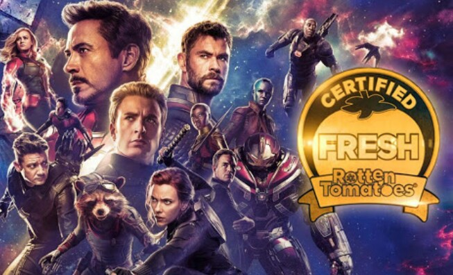 Avengers: Endgame Premieres On Rotten Tomatoes With Marvelous Ratings