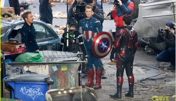 Captain America Getting His Shield Back