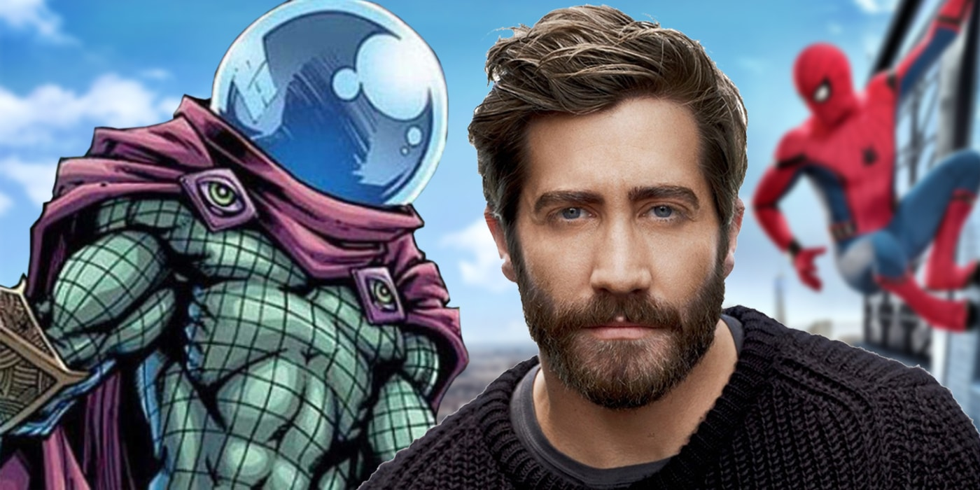 Jake-Gyllenhaal-as-Mysterio-in-Spider-Man-Suit Revealed