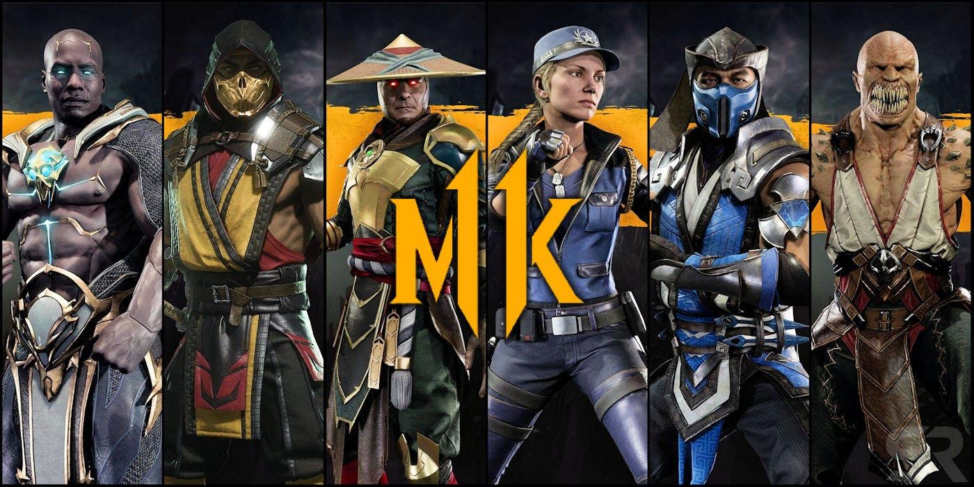 (Mortal Kombat 11 Character Roster)