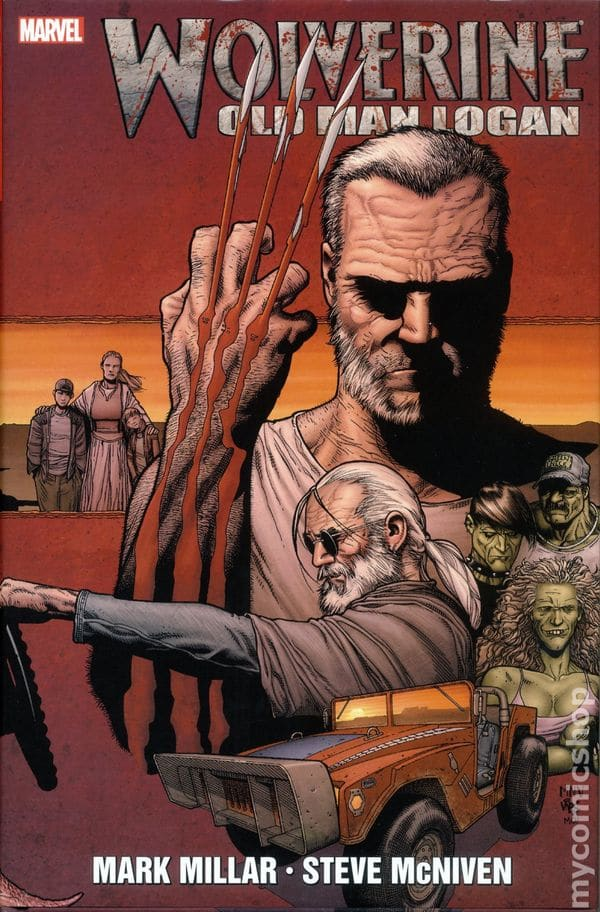 Wolverine Returns To Wasteland in Old Man Logan