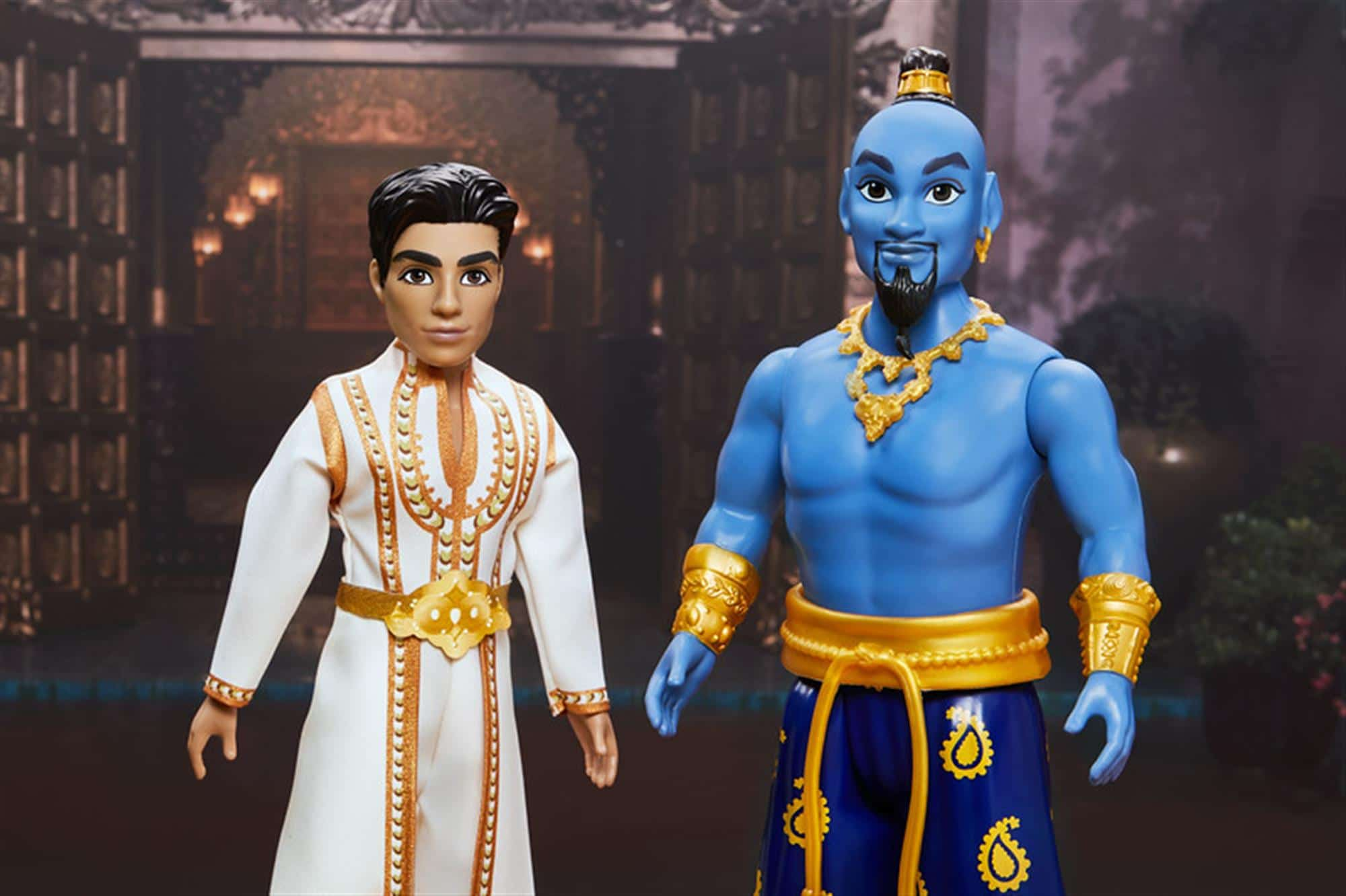 New Toy Images Reveal Will Smith's Full Genie Costume In Aladdin