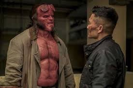 "David Harbour, Producers and Director fight on sets of ""Hellboy"""