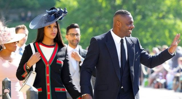 Idris Elba With his Wife Sabrina Dhowre