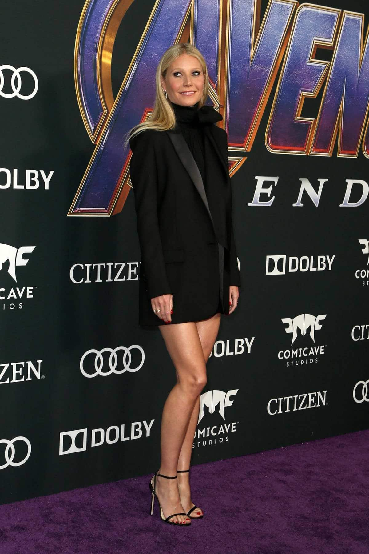 Gwyneth Paltrow Censored By Marvel At 'Avengers: Endgame' Premiere After A Slip Up