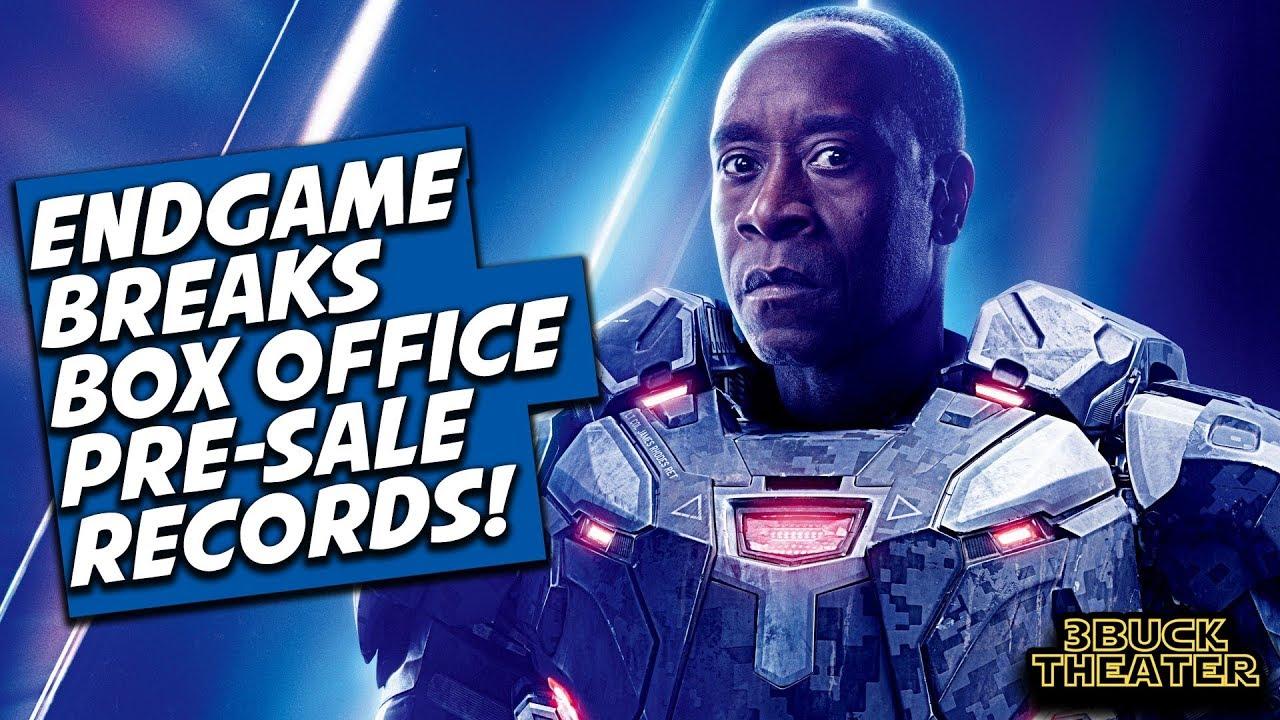 Avengers Endgame Breaks Box- Office Pre Sales Record