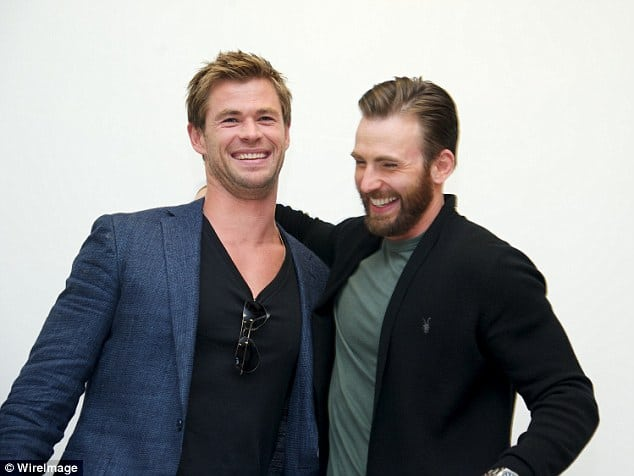 MCU Star Chris Evans Wants to Make a 'Buddy Comedy' With Co-Star Chris Hemsworth
