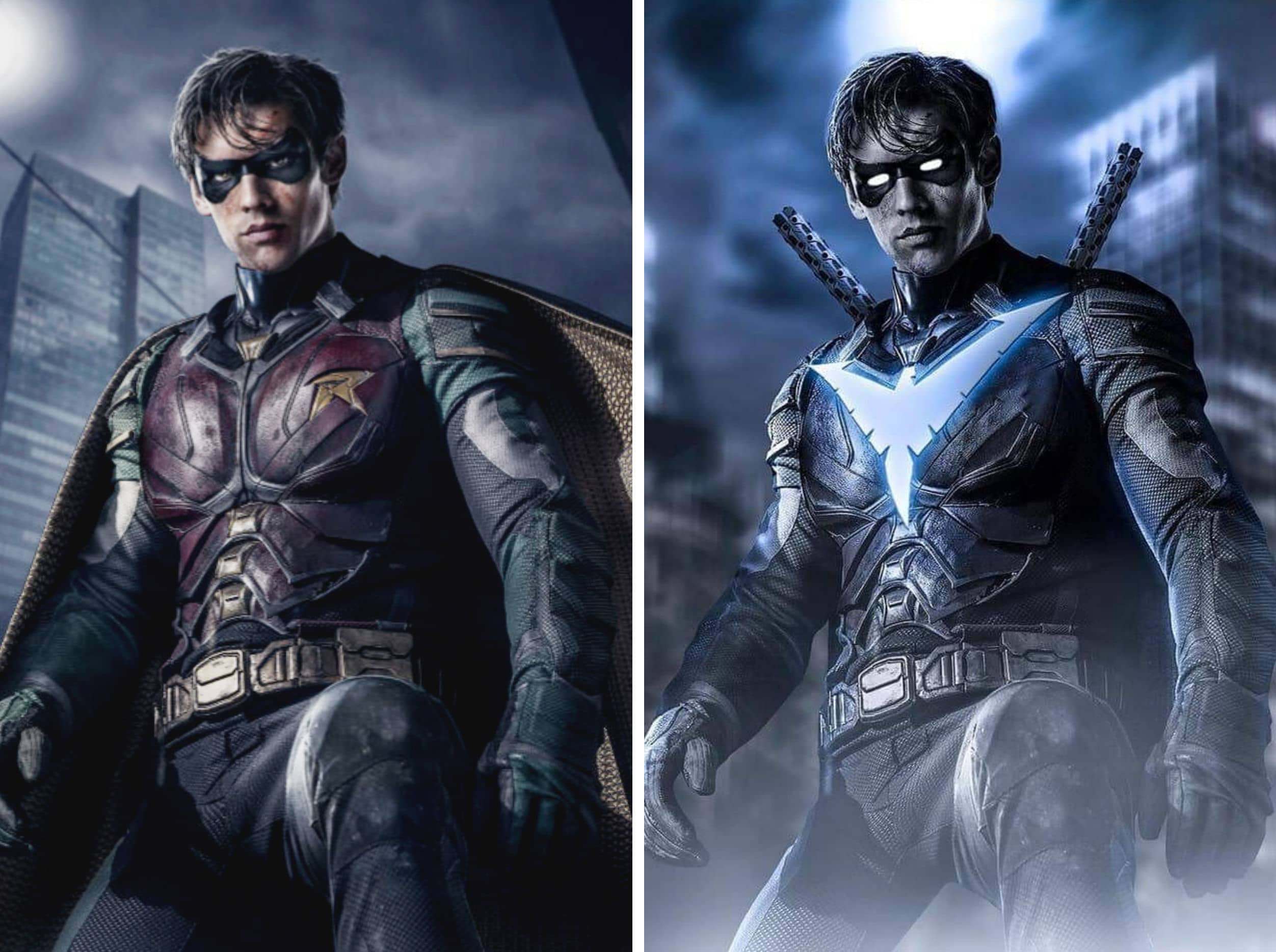 DC Universe's Titans Confirms Nightwing Costume For Season 2